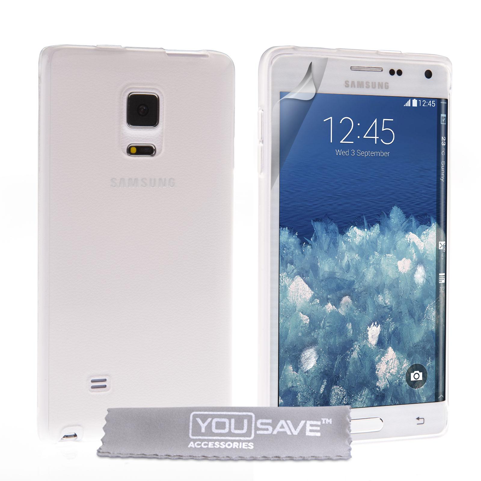 Ημιδιάφανη Θήκη Samsung Galaxy Note Edge by YouSave (SA-EA04-Z748)
