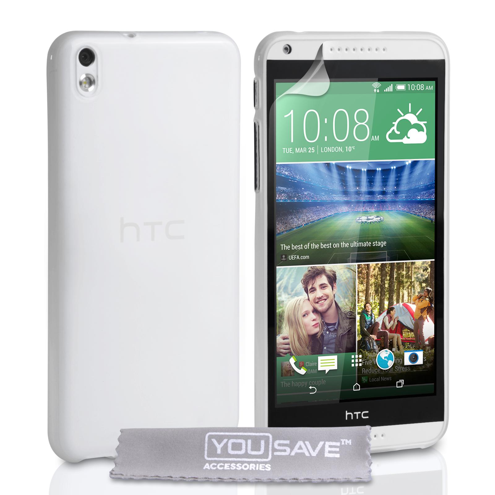 Ημιδιάφανη Θήκη HTC Desire 816 by YouSave (Z377)