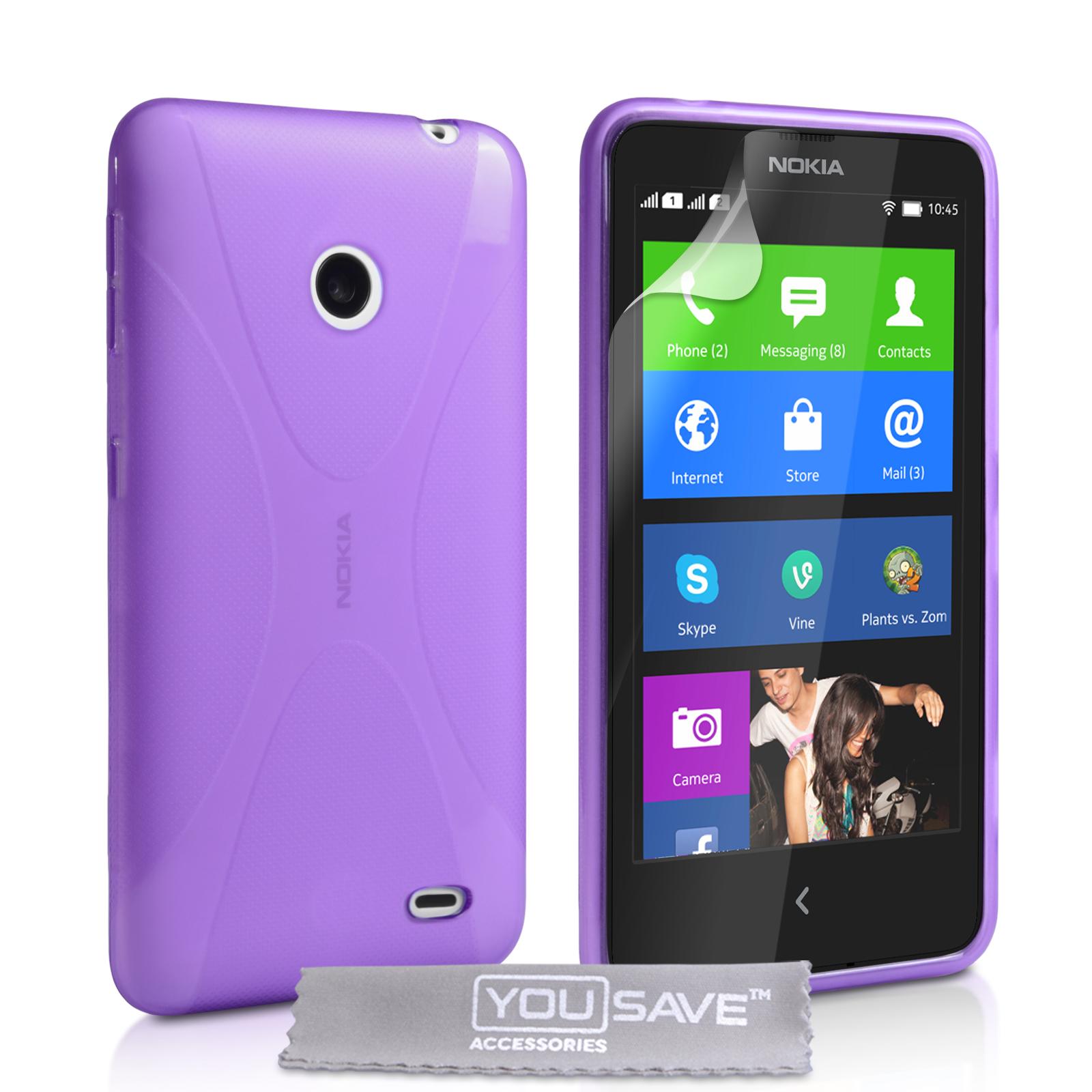 Ημιδιάφανη Θήκη Nokia X by YouSave (Z318)