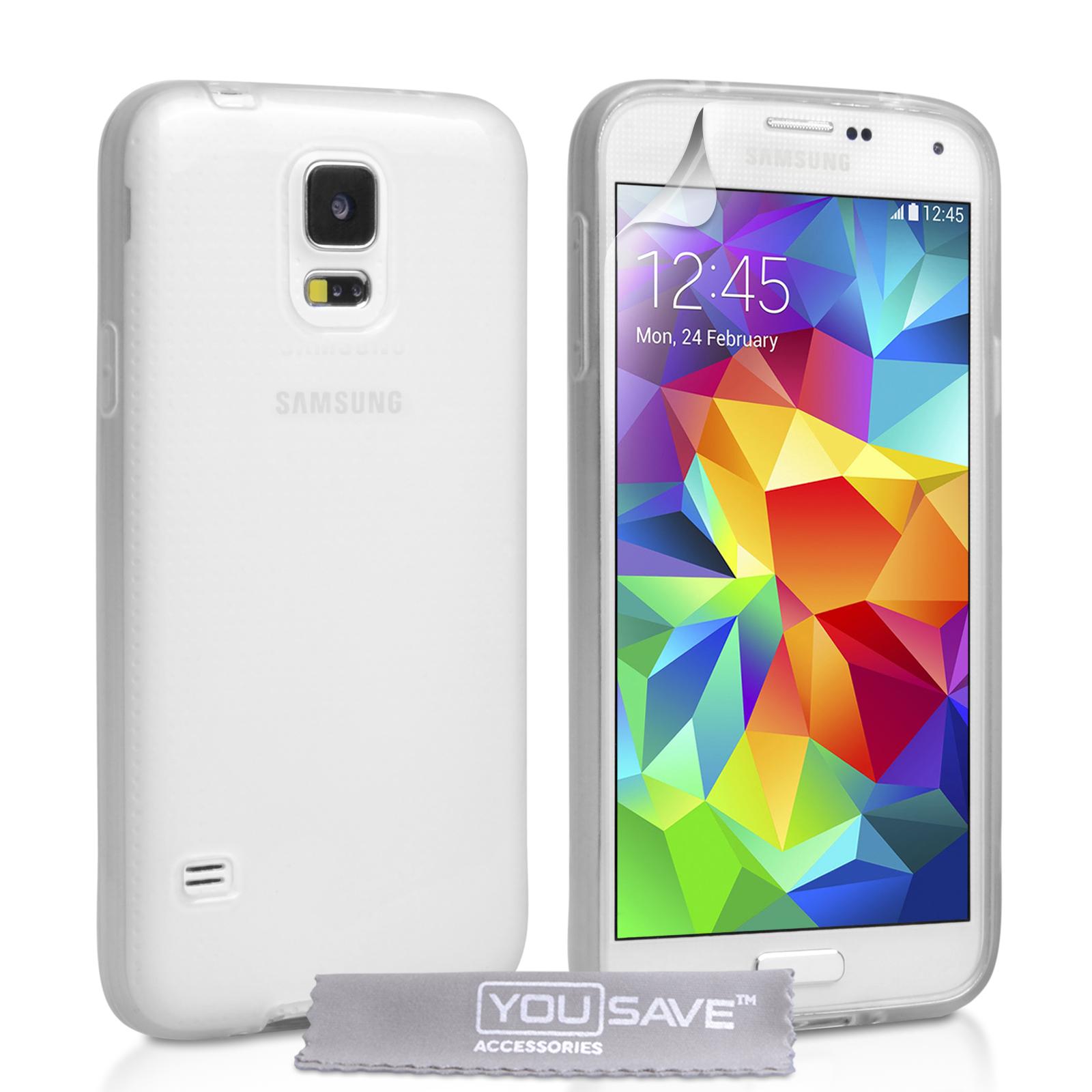 Ημιδιάφανη Θήκη Samsung Galaxy S5/S5 Neo by Caseflex (Z541)