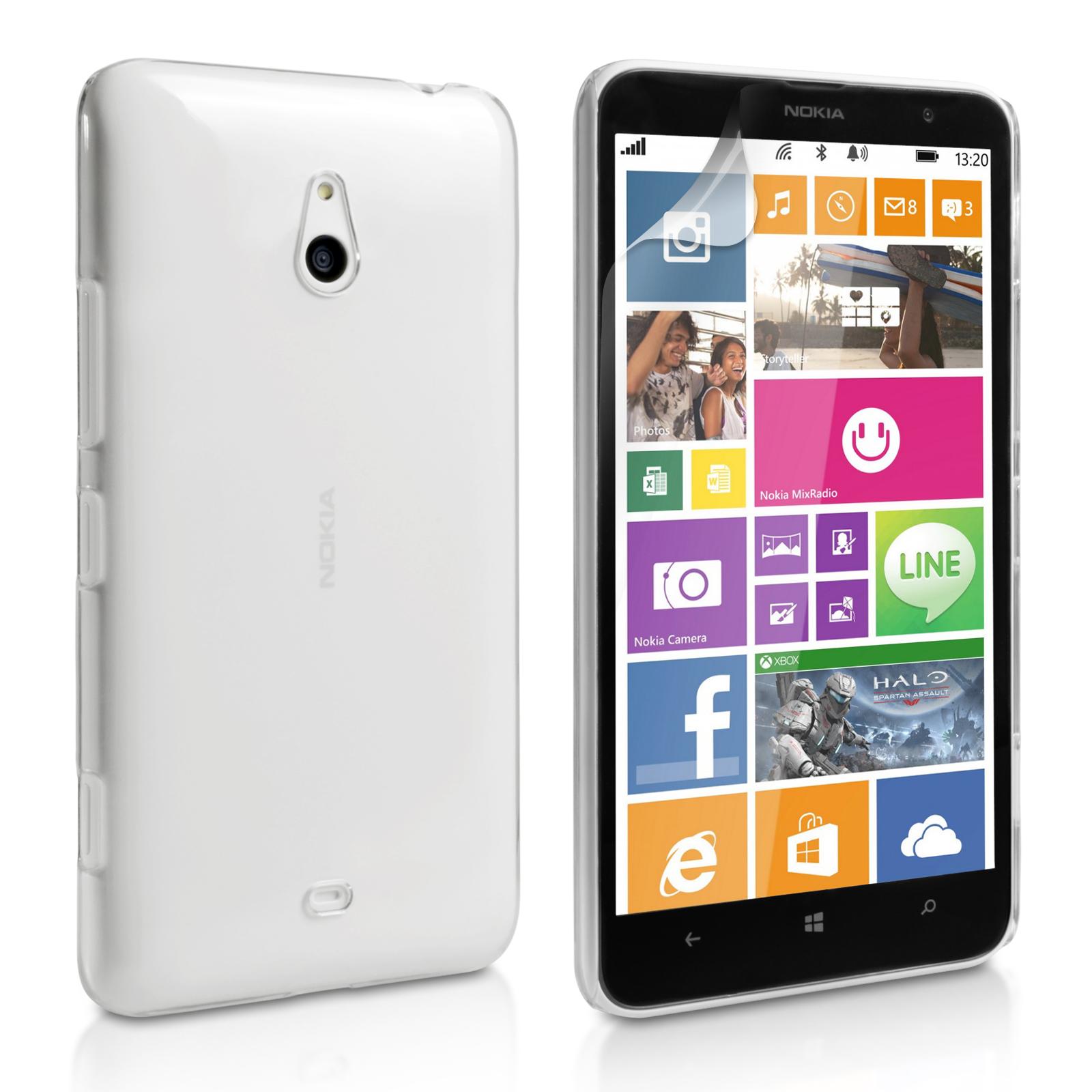 Ημιδιάφανη Θήκη Nokia Lumia 1320 by YouSave (Z275-1320)