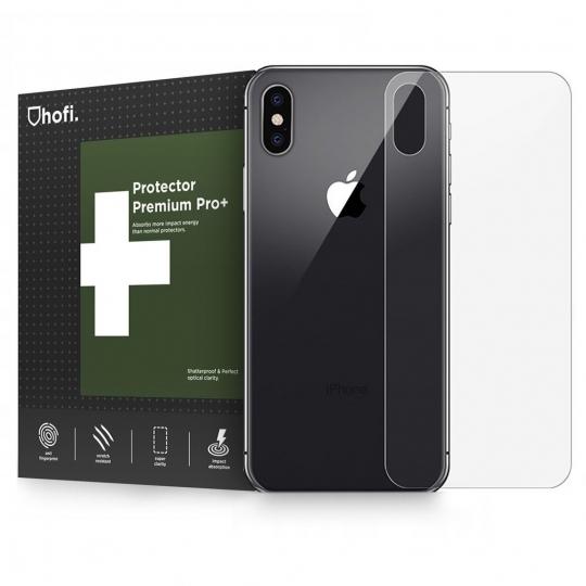 Hofi Premium Tempered Glass - Back Protector για iPhone XR - 0.26mm (44549)