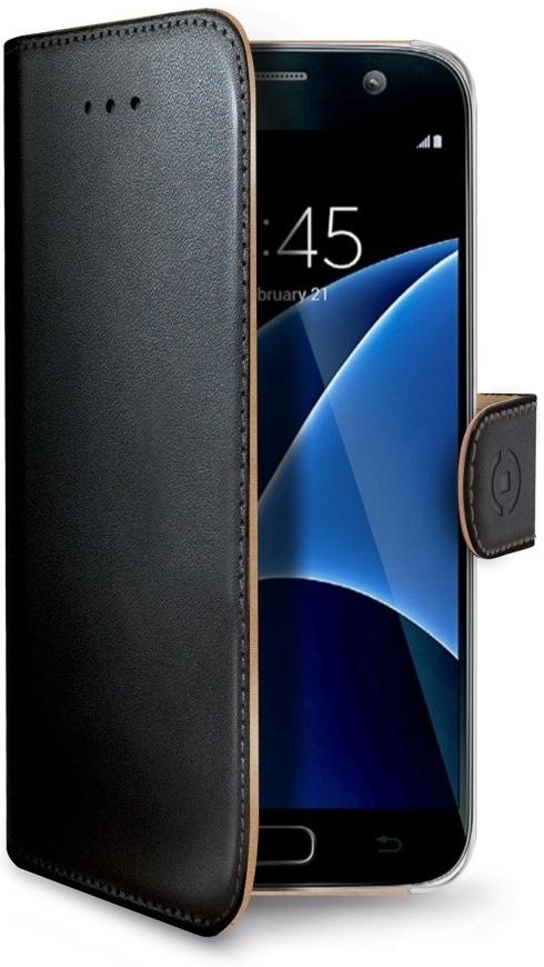 Celly Wally Θήκη - Πορτοφόλι Samsung Galaxy J5 2017 - Black (WALLY665)