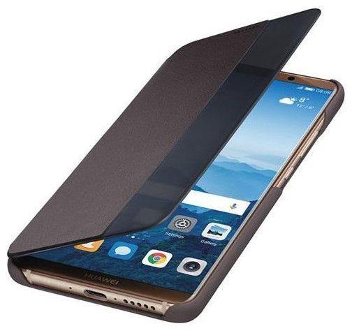 Huawei Official Smart View Flip Cover - Θήκη Huawei Mate 10 Pro - Brown (51992173)