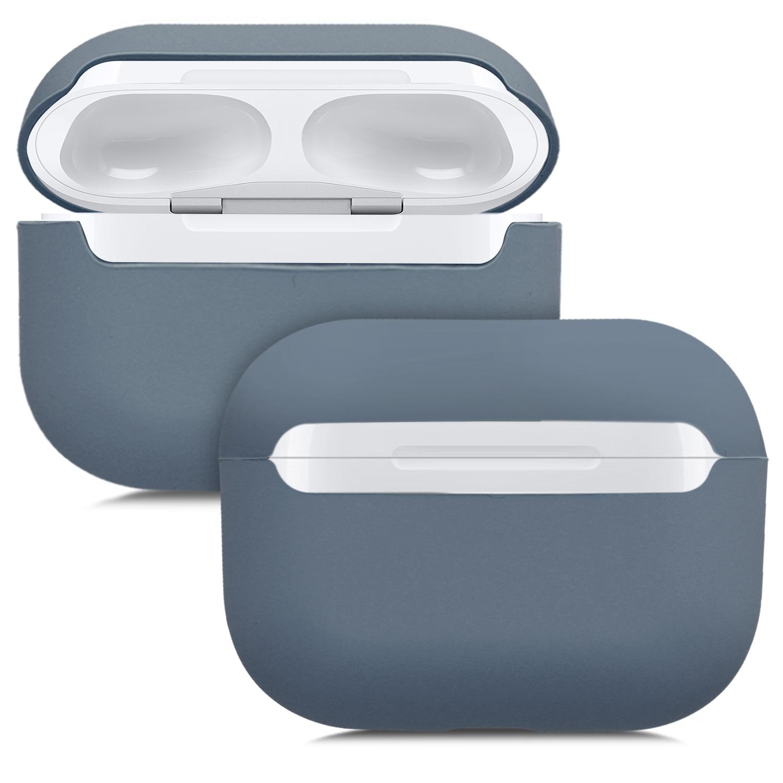KW Θήκη Σιλικόνης για Apple AirPods Pro - Dark Grey (50937.19)