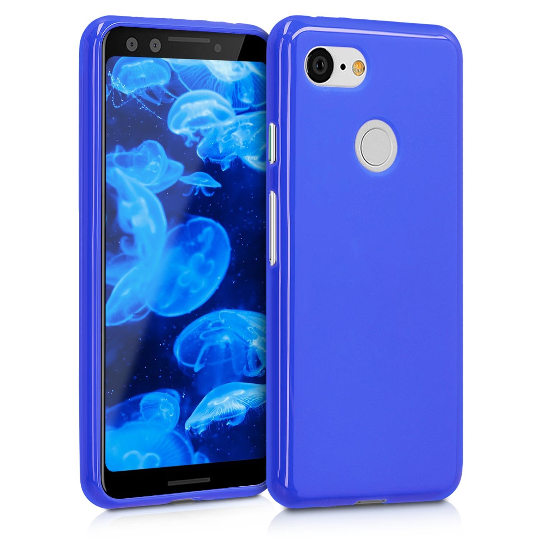KW Θήκη Σιλικόνης Google Pixel 3 - Royal Blue (45967.134)