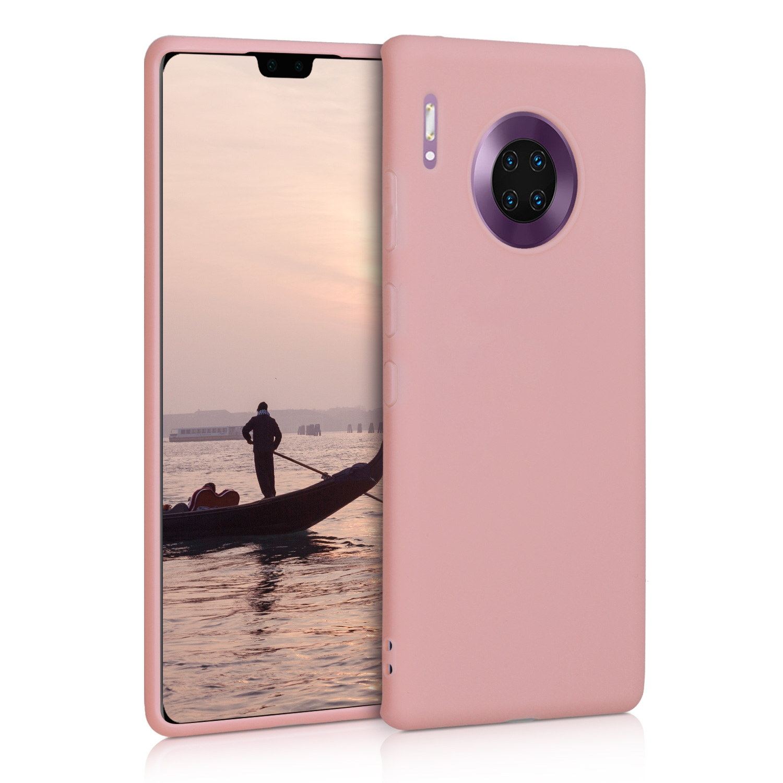 KW Θήκη Σιλικόνης Huawei Mate 30 Pro - Rose Gold Matte (50154.89)