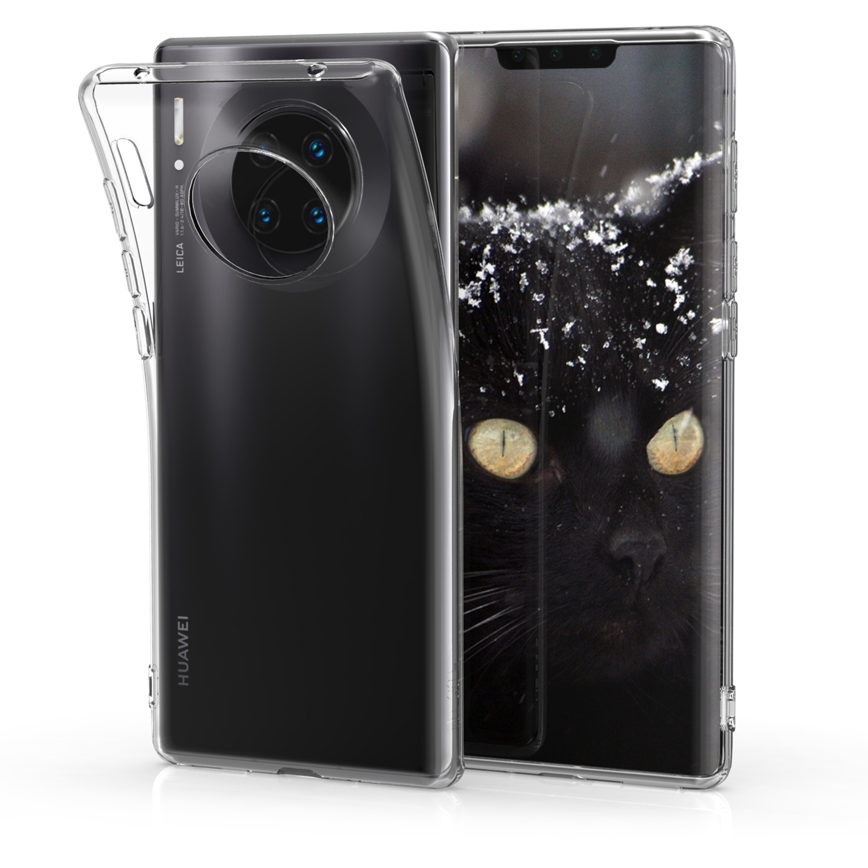 KW Θήκη Σιλικόνης Huawei Mate 30 Pro - Transparent (50141.03)
