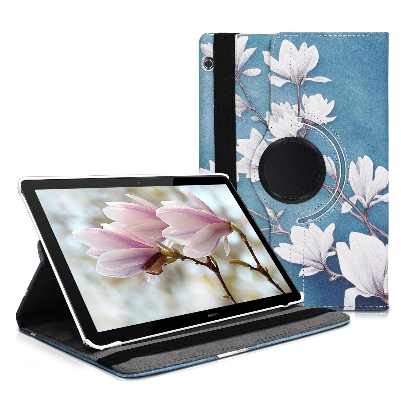 KW Θήκη 360° Huawei MediaPad T5 10 - Taupe / White / Blue Grey (46213.07)