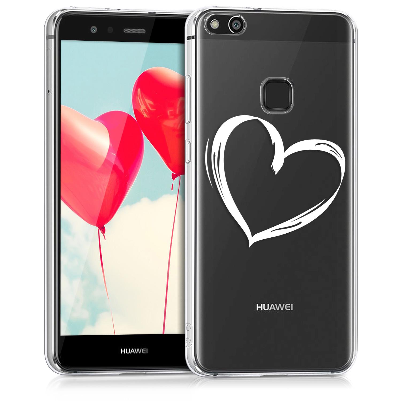 KW Διάφανη Σκληρή Θήκη Huawei P10 Lite - Heart Design (41375.36)