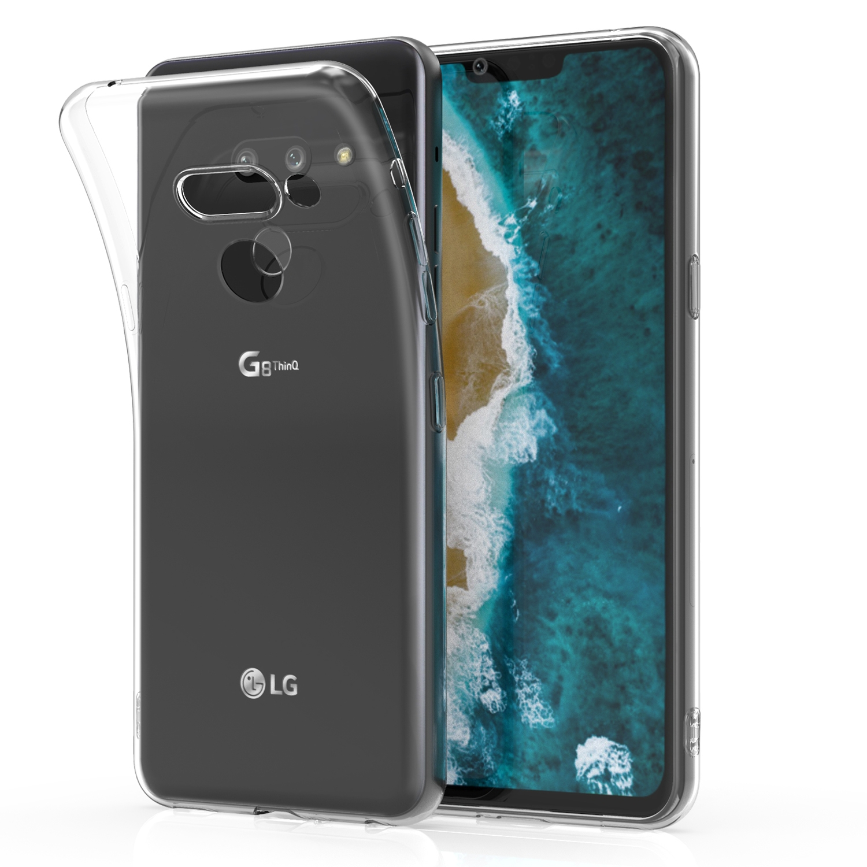 KW Θήκη Σιλικόνης LG G8 ThinQ - Transparent (47584.03)