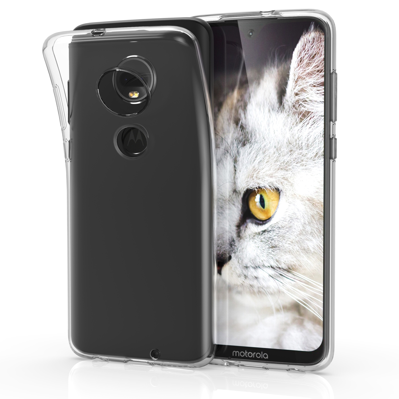 KW Θήκη Σιλικόνης Motorola Moto G7 - Transparent (47483.03)