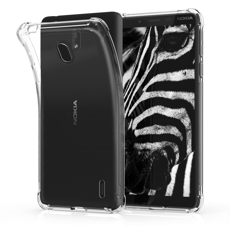 KW Θήκη Σιλικόνης Nokia 1 Plus - Transparent (48019.03)