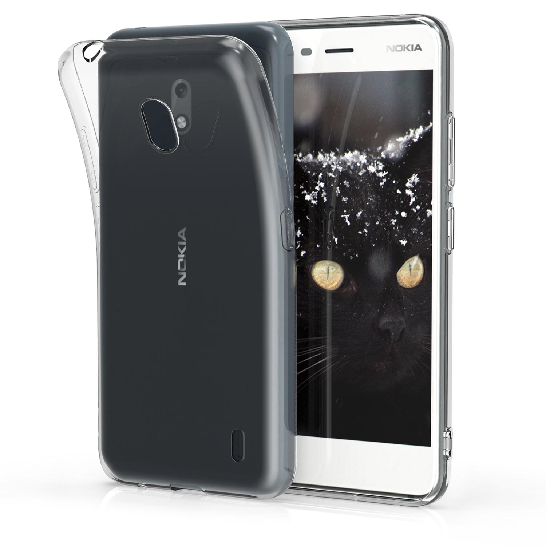 KW Θήκη Σιλικόνης Nokia 2.2 - Soft Flexible TPU Silicone - Transparent (49366.03)