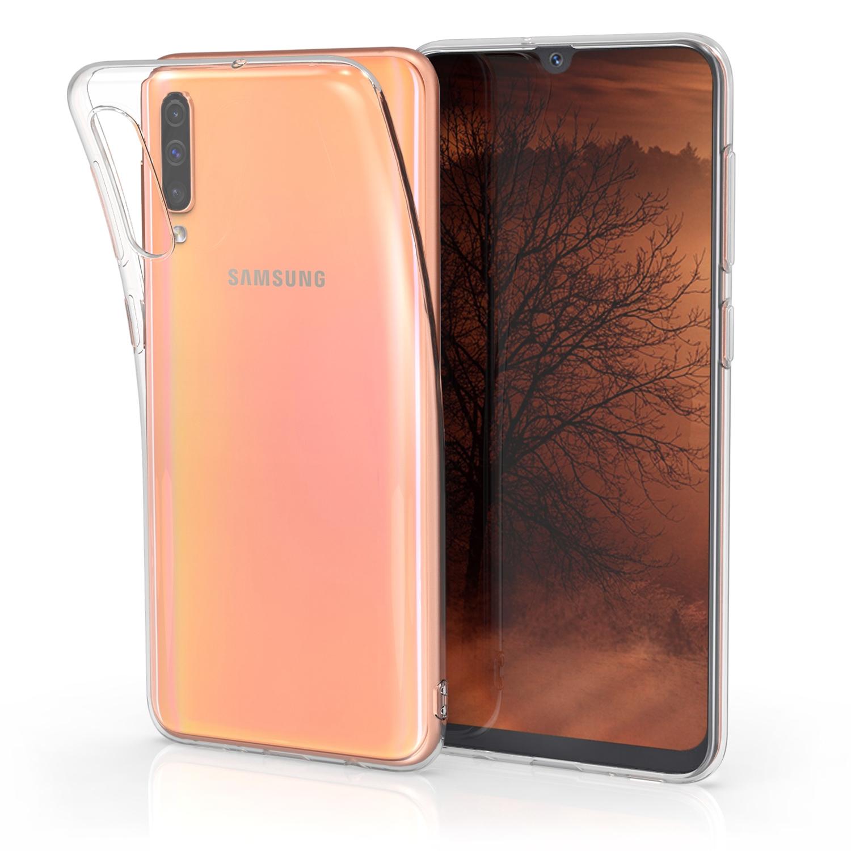 KW Θήκη Σιλικόνης Samsung Galaxy A50 - Soft Flexible TPU - Transparent (48053.03)