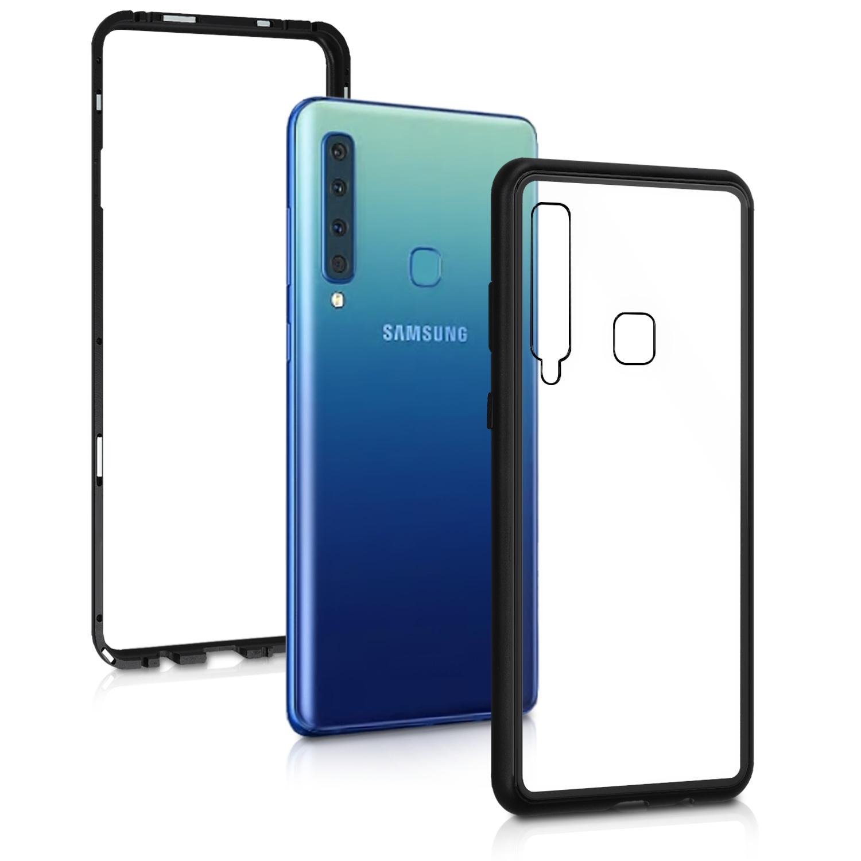 Kalibri Θήκη Full Body Samsung Galaxy A9 2018 - Black / Transparent (47610.01)