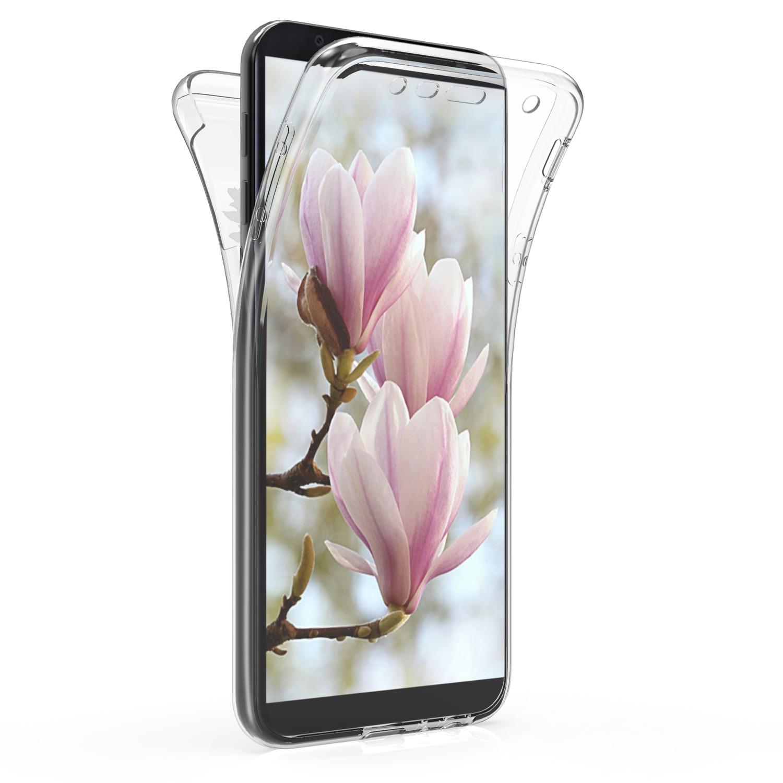 KW Θήκη Σιλικόνης Full Body Samsung Galaxy J4 Plus - Light Pink / White / Transparent (47623.01)