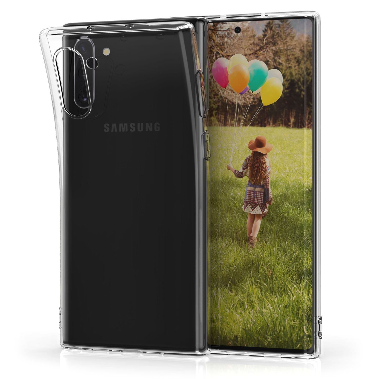 KW Θήκη Σιλικόνης Samsung Galaxy Note 10 - Transparent (49273.03)
