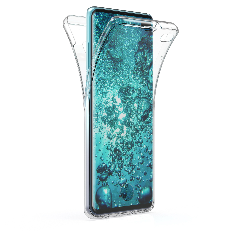 KW Θήκη Σιλικόνης Full Body Samsung Galaxy S10 Plus - Transparent (49362.03)