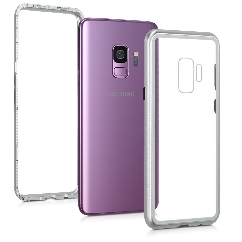 Kalibri Θήκη Full Body Samsung Galaxy S9 -  Silver / Transparent (47609.35)