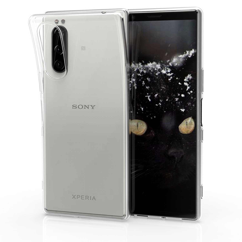 KW Θήκη Σιλικόνης Sony Xperia 5 - Transparent (50138.03)