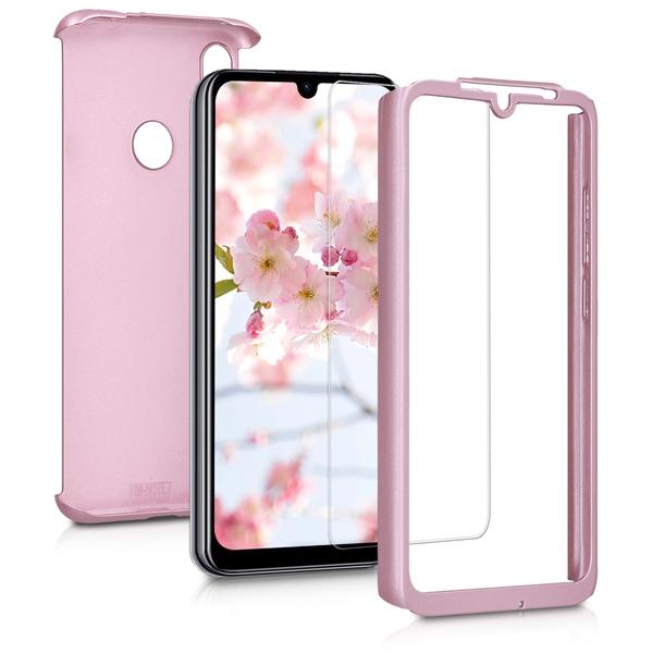 KW Θήκη Full Body Xiaomi Redmi Note 7 / Note 7 Pro & Tempered Glass - Metallic Rose Gold (47569.31)
