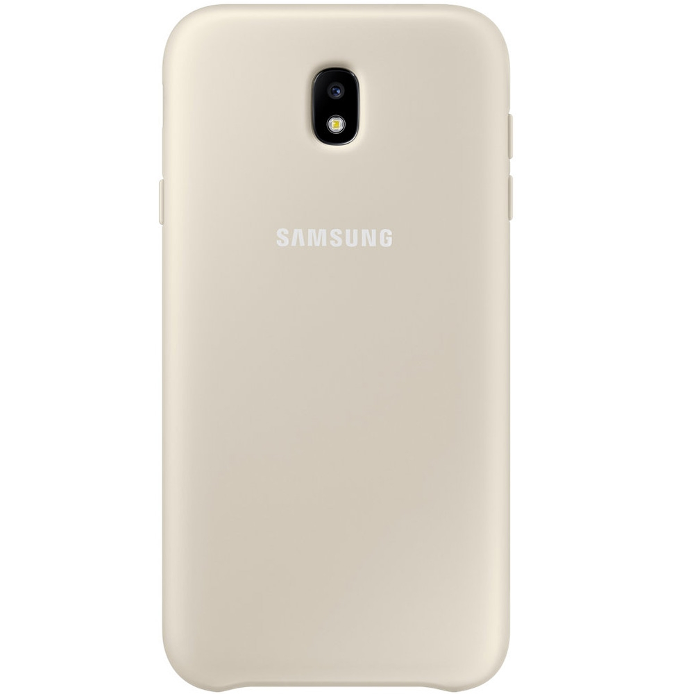 Samsung Official Dual Layer Cover Samsung Galaxy J3 2017- Gold (EF-PJ330CFEGWW)