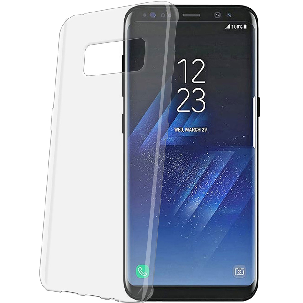 Celly Διάφανη Θήκη Σιλικόνης Samsung Galaxy S8 Plus - Transparent (GELSKIN691)