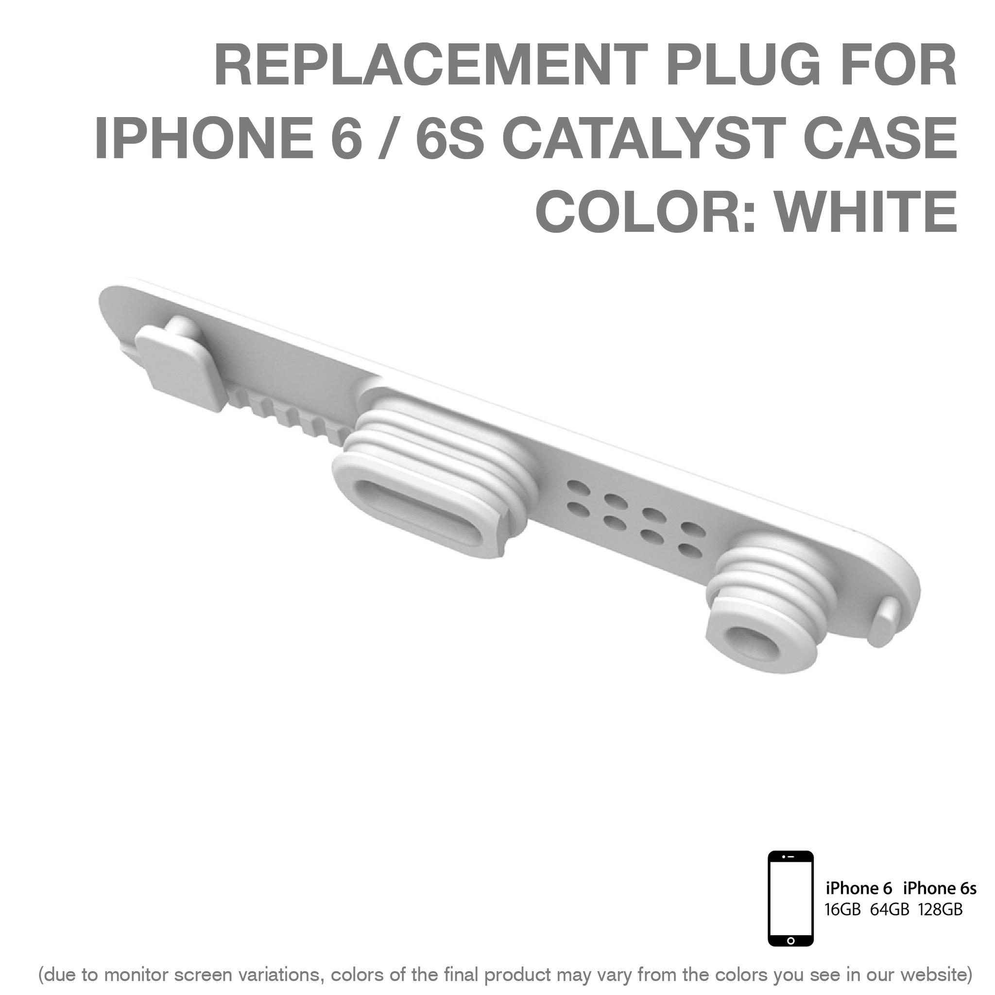 Replacement plug για Αδιάβροχη Θήκη iPhone 6/6S by Catalyst (10340)