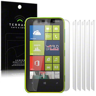 Μεμβράνη Προστασίας Οθόνης Nokia Lumia 620 by Terrapin - 6 Τεμάχια (006-001-112)