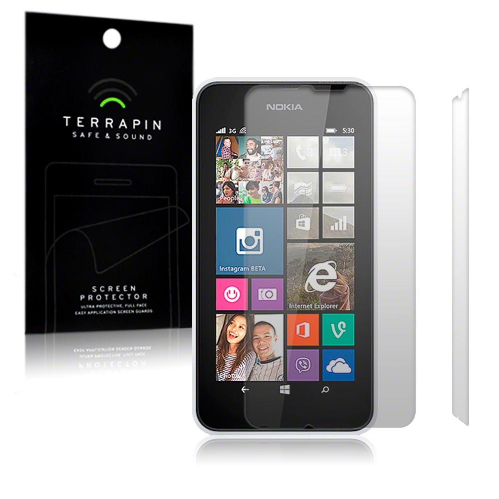 Μεμβράνη Προστασίας Οθόνης Nokia Lumia 530 by Terrapin - 2 Τεμάχια (006-001-138)