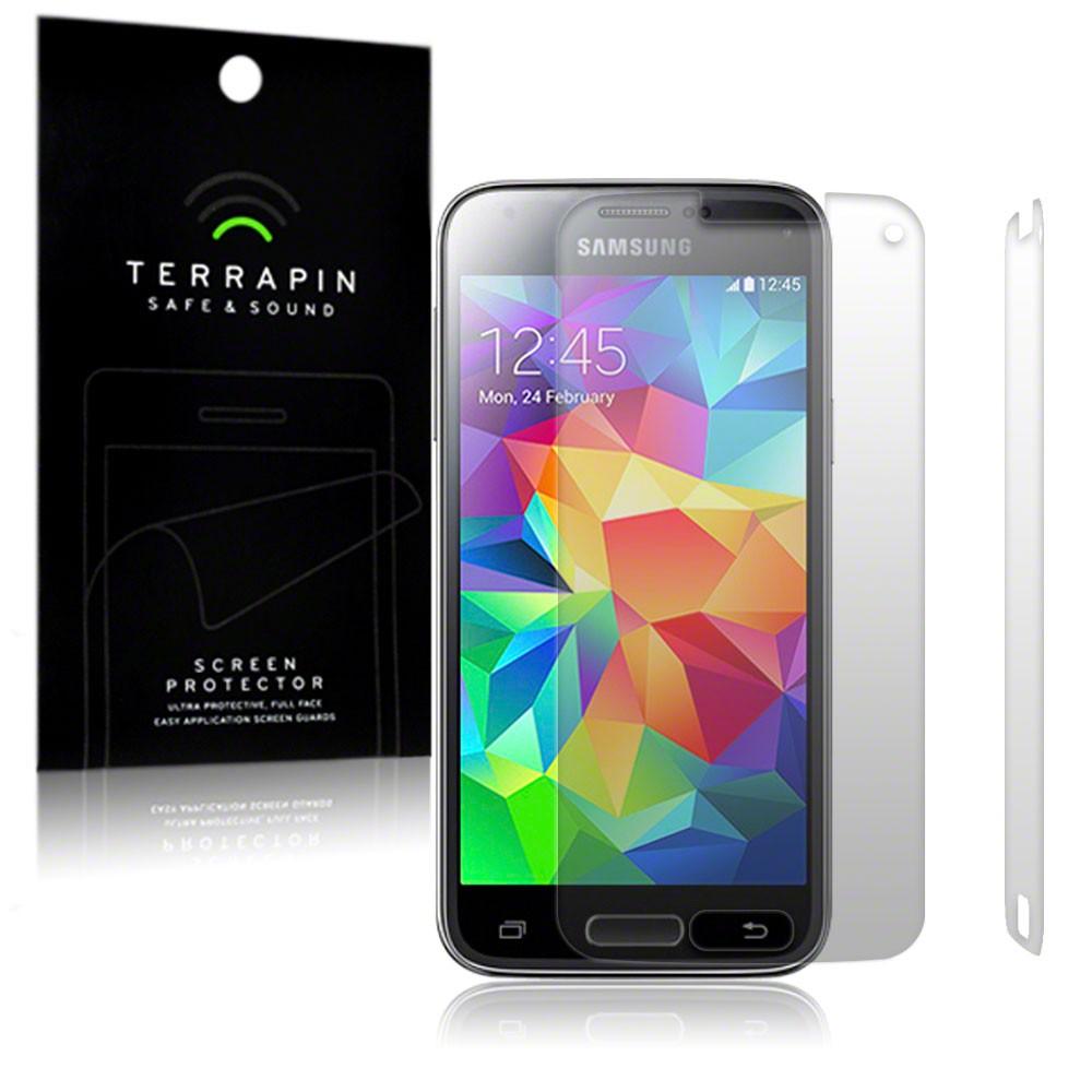 Μεμβράνη Προστασίας Οθόνης Samsung Galaxy S5 Mini by Terrapin - 2 Τεμάχια (006-002-237)