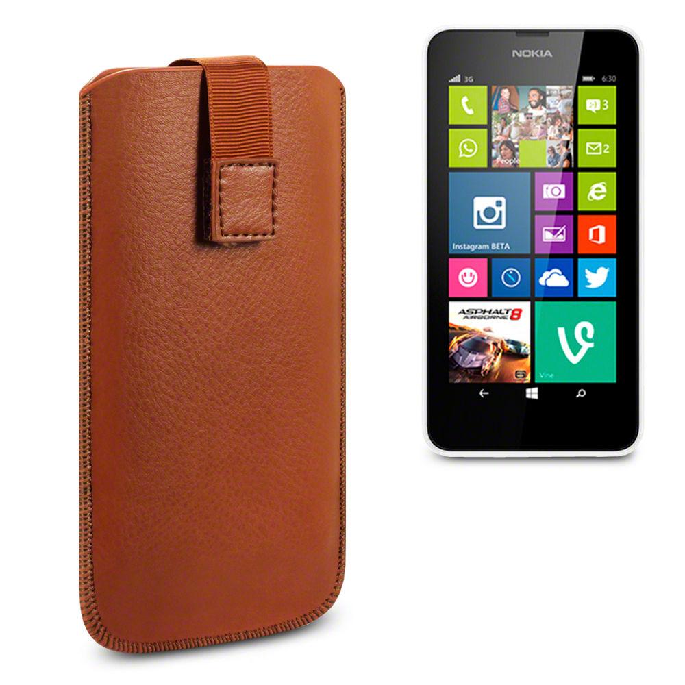 Δερμάτινη Θήκη Nokia Lumia 630/635 by Terrapin (009-002-088-630)