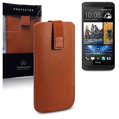 Δερμάτινη Θήκη HTC One by Terrapin (009-002-088-ONE)