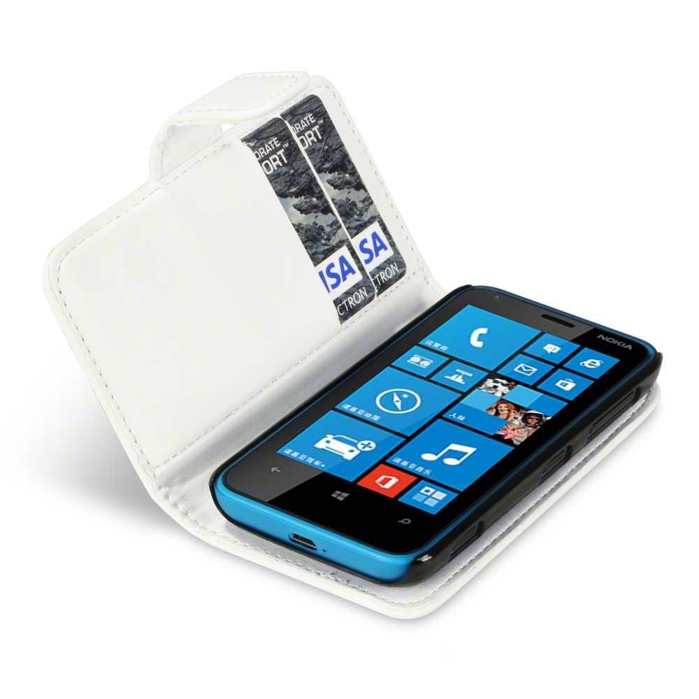 Θήκη Nokia Lumia 620 - Πορτοφόλι by Qubits (117-001-181)