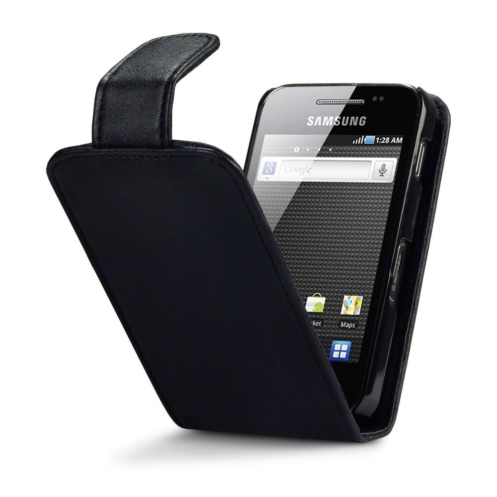Θήκη Samsung Galaxy Ace - Πορτοφόλι by Qubits (117-002-382)