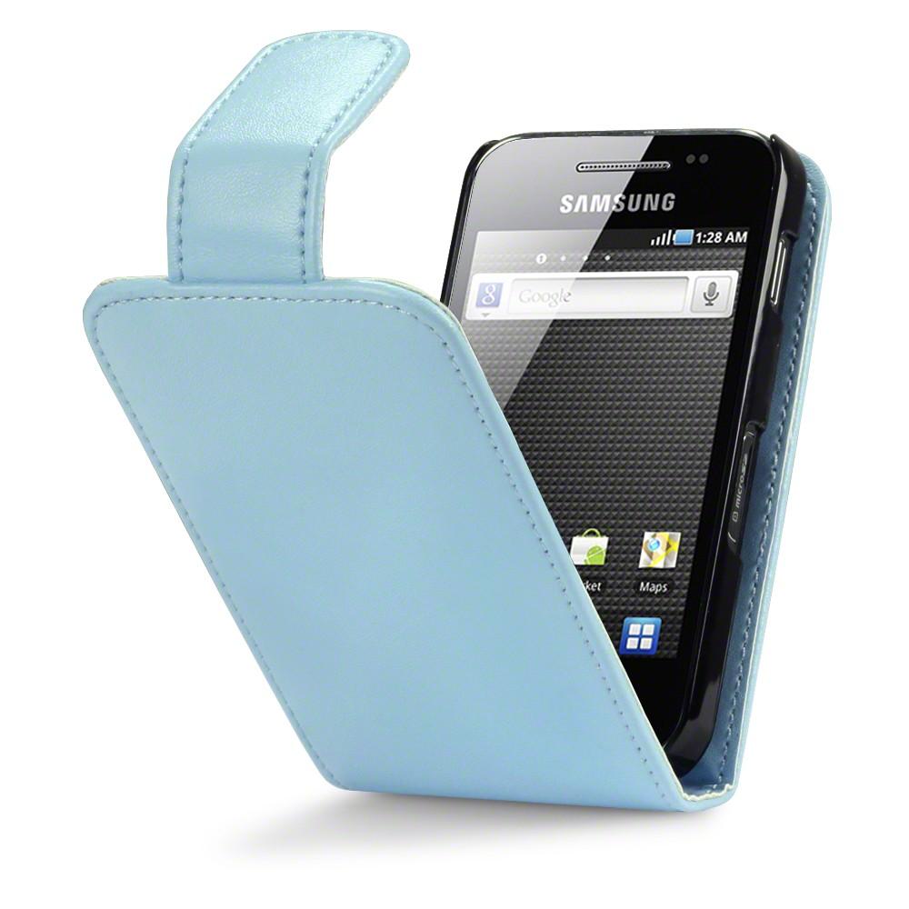 Θήκη Samsung Galaxy Ace - Πορτοφόλι by Qubits (117-002-388)