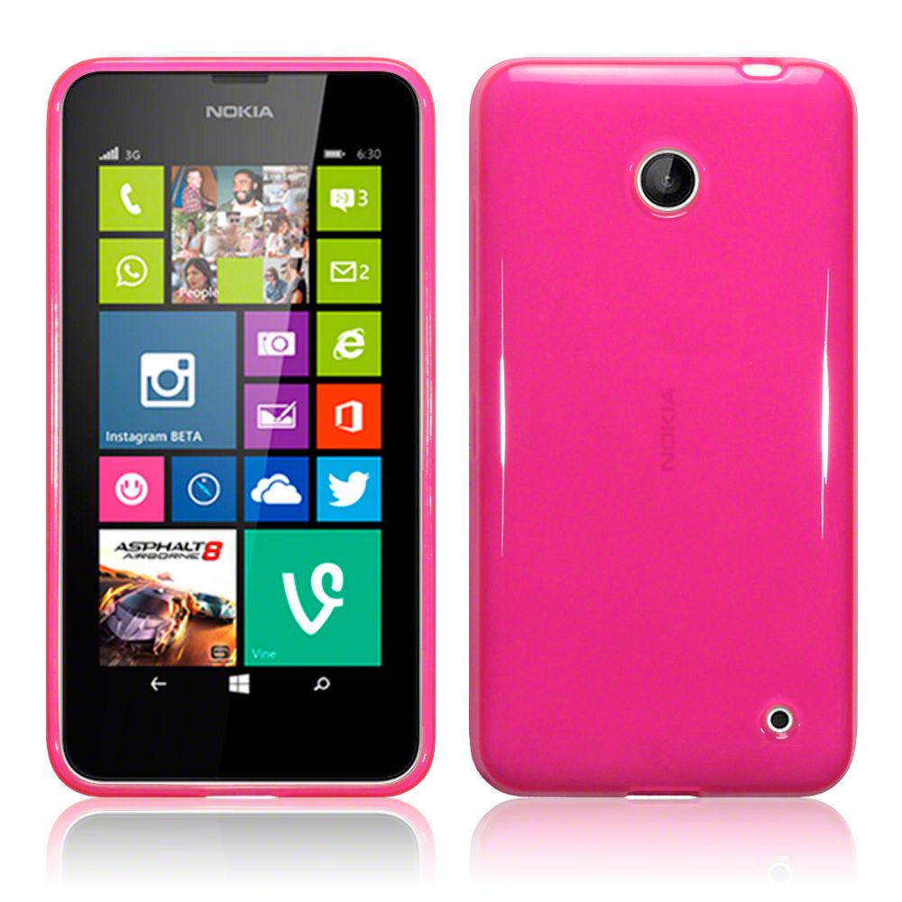 Ημιδιάφανη Θήκη Nokia Lumia 630/635 by Terrapin (118-001-205)