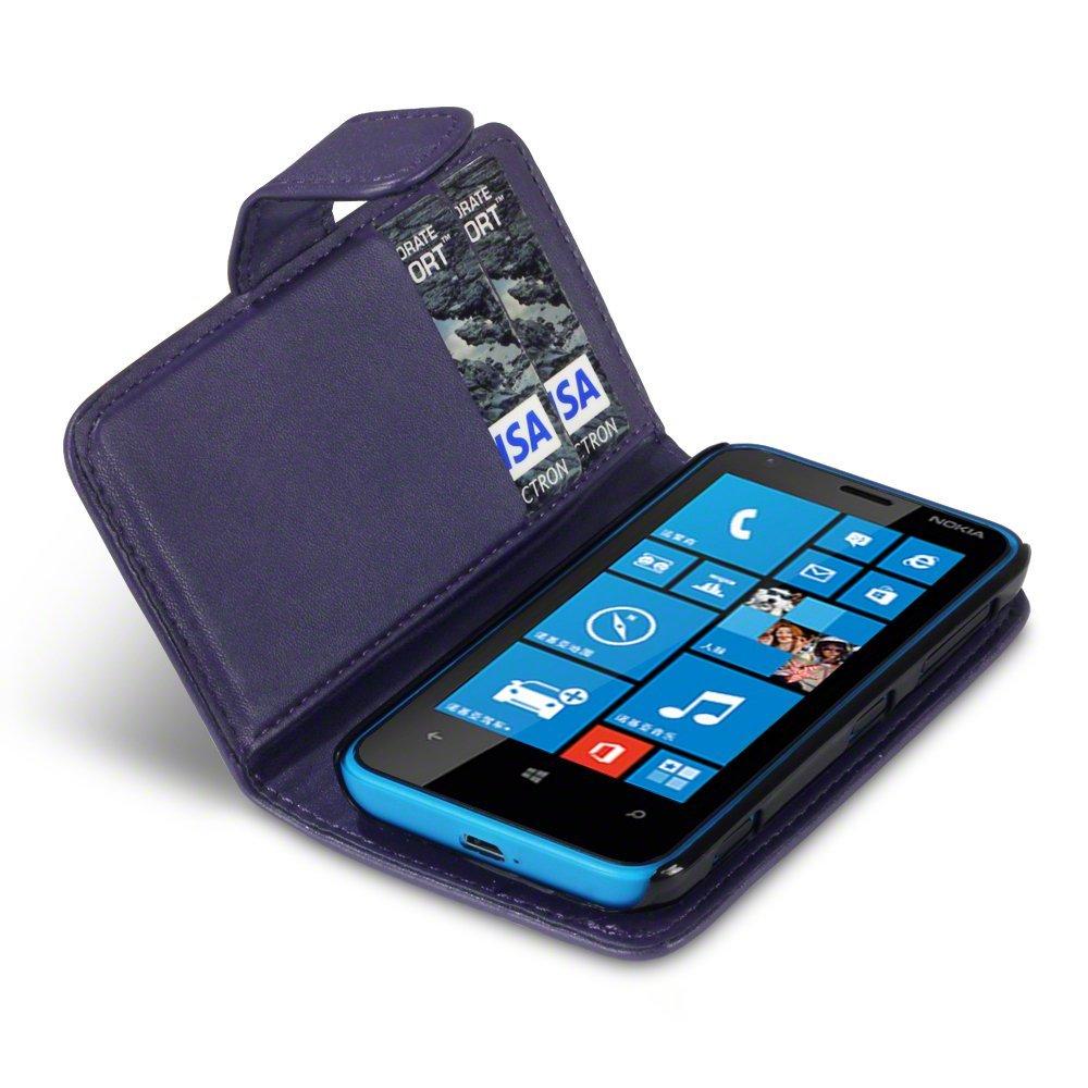 Θήκη Nokia Lumia 620 - Πορτοφόλι by Qubits (117-001-179)