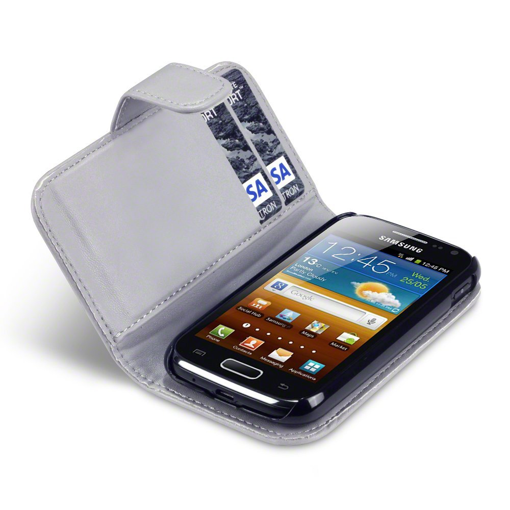 Θήκη Samsung Galaxy Ace 2 - Πορτοφόλι by Qubits (117-002-497)