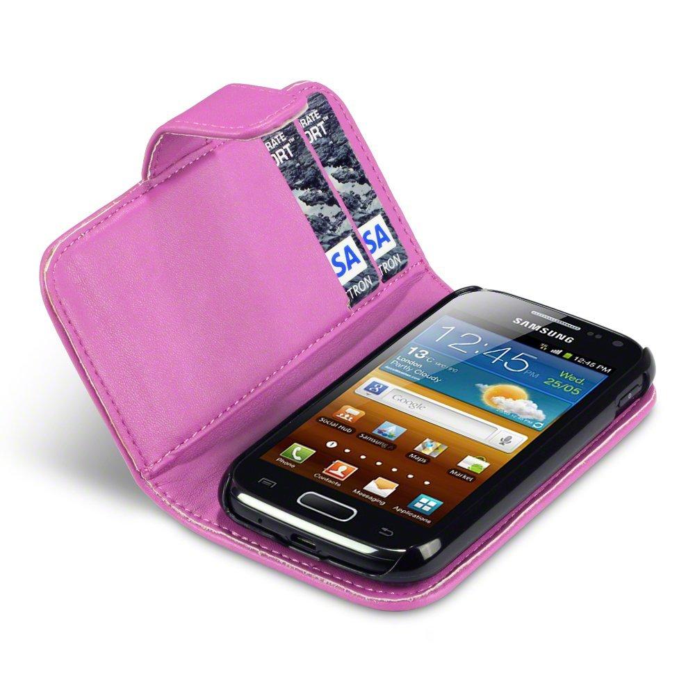 Θήκη Samsung Galaxy Ace 2 - Πορτοφόλι by Qubits (117-002-491) μόδα