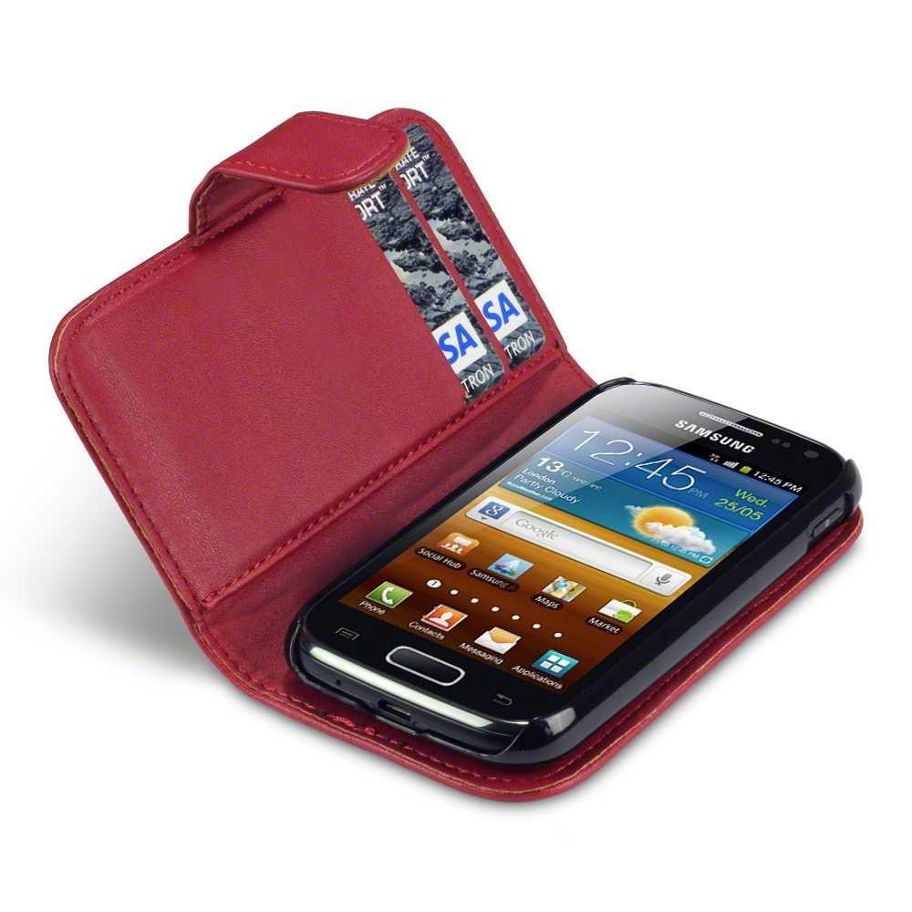 Θήκη Samsung Galaxy Ace 2 - Πορτοφόλι by Qubits (117-002-493) μόδα