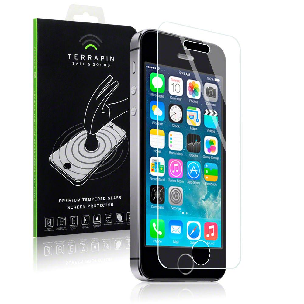 Αντιχαρακτικό Γυάλινο Screen ProtectoriPhone 5/5S/SE by Terrapin (006-095-006)