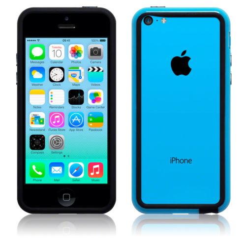 Θήκη Bumper iPhone 5C by Terrapin - Blue (136-107-005)