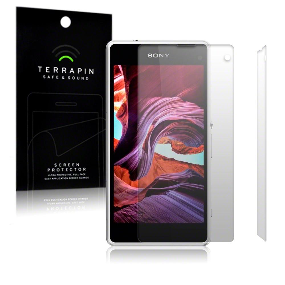 Μεμβράνη Προστασίας Οθόνης Sony Xperia Z1 Compact by Terrapin - 2 Τεμάχια (006-005-125)