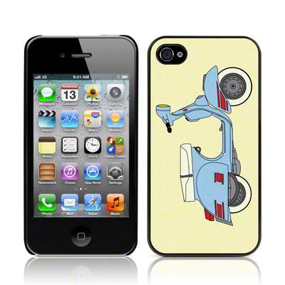 Θήκη iPhone 4/4S - Vespa by Call Candy (122-076-258) θήκες κινητών