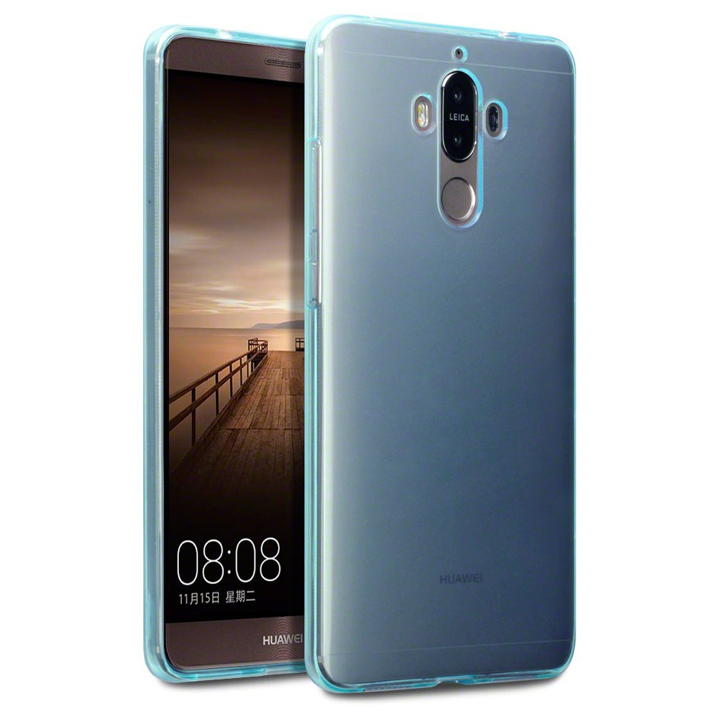 Terrapin Ημιδιάφανη Θήκη Σιλικόνης Huawei Mate 9 (118-083-088) - Blue θήκες κινητών