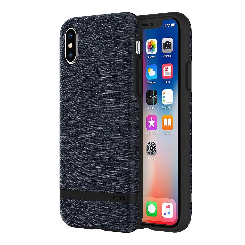 Incipio Esquire Series - Θήκη από Σιλικόνη & Ύφασμα για iPhone X / XS - Blue (IPH-1631-BLU)