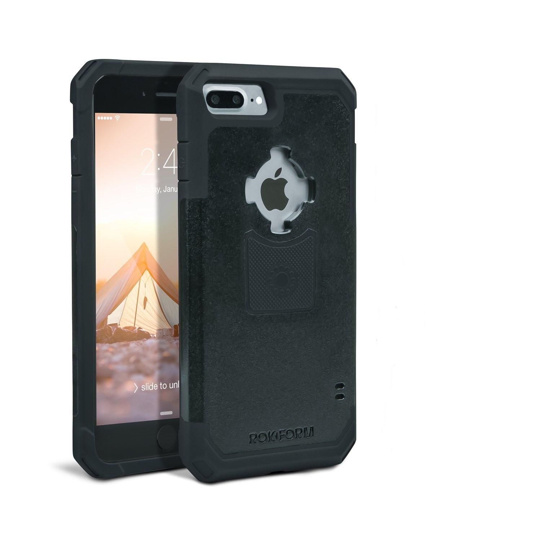 Rokform Θήκη iPhone 7 Plus V3 Case - Rugged Black με Μαγνητική Βάση Αυτοκινήτου (303201)