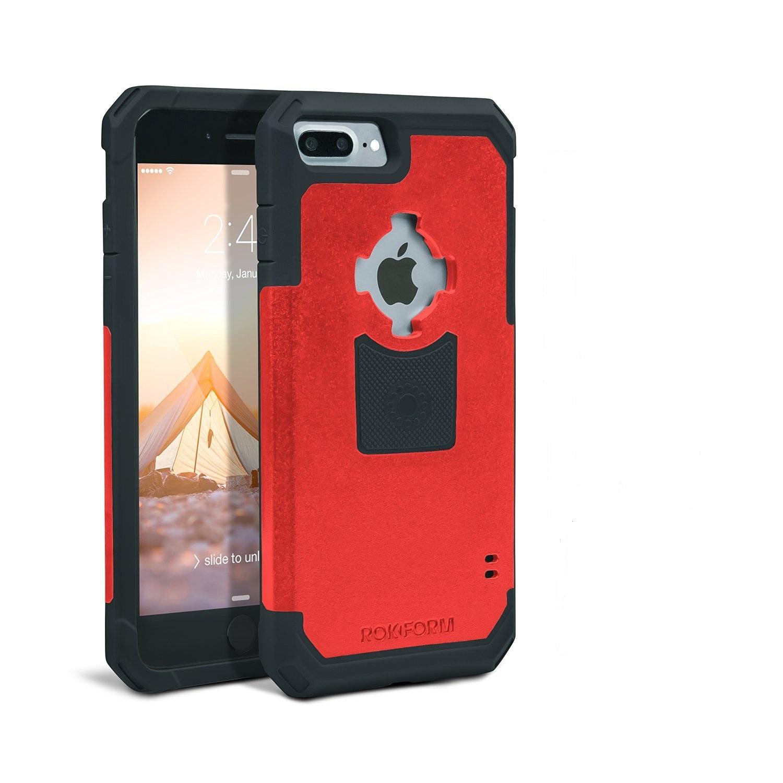 Rokform Θήκη iPhone 7 Plus V3 Case - Rugged Red / Black με Μαγνητική Βάση Αυτοκινήτου (303256)